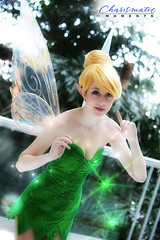 Tinker Bell (Walt Stoneburner) Tags: green costume wings moments bell cosplay magic tinkerbell peterpan disney peter fairy masquerade pan fairydust tinker katsucon 2014 charismatic charismaticmoments katsucon2014