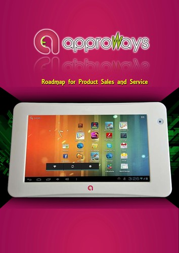 Tablet PC advert