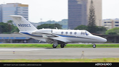 Citation M2 N800CZ (Hotel Charlie Aviation) Tags: aircraft landing cessna jjo segu josejoaquindeolmedo n800cz aeromundo cessnam2