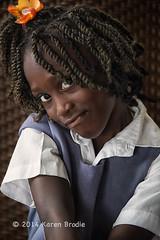 Tameka (Karen Brodie Photography) Tags: portrait girl nikon child belize ambergriscaye sanpedro mischieveous d4s dsc0511