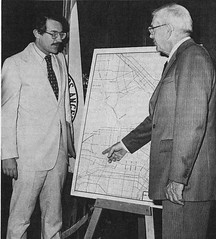 Wilshire Subway planning grant awarded, June 11, 1980 (Metro Transportation Library and Archive) Tags: scrtd wilshiresubway dickgallagher