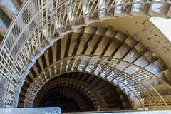 Stairs / Schody (katka.havlikova) Tags: old shadow urban sun abandoned beauty stairs hotel decay secret an railing exploration urbex katka920