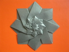 Evan Zodl's Star Tower (georigami) Tags: paper origami papel papiroflexia