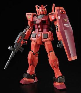 紅色彗星專用機!RX-78/C.A 卡斯巴爾(夏亞)專用鋼彈