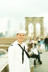 Sailor (alanabramsphotography) Tags: nyc bridge ny newyork color slr film brooklyn 35mm canon eos fuji scanner superia brooklynbridge filmcamera 800 filmscanner 1n f135 pakon