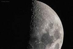 To the moon (Link900) Tags: light sky moon black night t sony science luna craters telescope galaxy crater cielo adapter half astronomy universe astronomia nero notte luce barlow celestron cratere universo x2 nex scienza met galassia crateri 900mm 5r