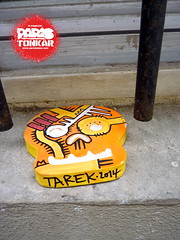 Collages dans la rue :: Juillet 2014 :: Paris (Pegasus & Co) Tags: urban streetart art colors face painting skull graffiti stencil paste arts dessin menatwork worldwide rue bd tte artistes  urbain tarek crne   arturbain  artsdelarue  urbart  yarps   ernestonovo    matlebull