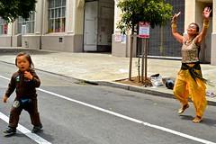 Dancing in the Street,  Sunday street closures, San Francisco (David McSpadden) Tags: sanfrancisco street streets open dancers sunday arguello oldandyoung streetsf richmondsunday