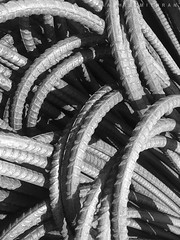 rods (AATHISEMITHRAN) Tags: iphone6 iphone rods blackandwhite bw steel bend thick strong