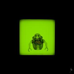 Shadow (251/100) - Slimer (Ballou34) Tags: 2016 650d afol ballou34 canon eos eos650d flickr lego legographer legography minifigures photography rebelt4i stuckinplastic t4i toy toyphotography toys rebel stuck plastic photgraphy blackwhite light shadow enevucube minifigure 100shadows ghostbuster ghostbusters ghost slimer