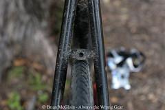 10 years on, it still has a long way to go (Brian McGloin) Tags: trackbike fixedgear bicycle schwalbe marathonplus 700c mercier kilott austin singlespeed wald wirebasket