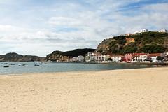 Sao Martinho do Porto (hans pohl) Tags: portugal nazar villes cities cloudy nuageux atlantique beaches plages ships boats landscapes paysages