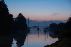 wareham mist-1831 (eamonnuk) Tags: autum watch bbc autumnwatch wareham dorset misty morning sails boats