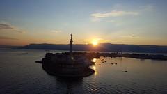 """vos et ipsam civitatem benedicimus"" Messina (Wasthing) Tags: messina italy port sea sicily sunset s6 galaxy"