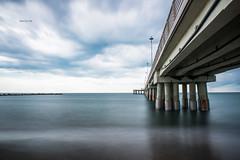 In a iron sea (zizzyphotobox) Tags: sea mare landscape seascape nikond610 sky cielo nuvole clouds ferro iron