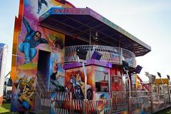 DSC02226 (A Parton Photography) Tags: fairground rides spinning longexposure miltonkeynes fireworks bonfire november cold