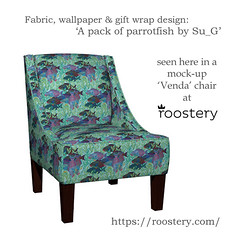 Roostery Venda chair in my 'A pack of parrotfish' (Su_G) Tags: sug 2016 bluegreens roostery vendachair mockup upholsteredchairmockup apackofparrotfishbysug apackofparrotfish packofparrotfish parrotfish fish greatbarrierreef tropicalfish tropical seaweed upholstery softfurnishing softfurnishings homedecor homefurnishing homefurnishings decor armchair chair underwaterscene handpainted largescalerepeat scaleasatechnicalissue technical seascape sea ocean spoonflowercontest
