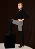 Model Razya (Tex Texin) Tags: agaci bafw bayareafashionweek california greatmall milpitas sanjose accessories clothing fashion hautecouture instore stylemodels style models razya pollock captainmorgan stance boots heels black zigzag redhead ginger redhair