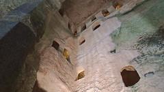 DSCF0073 glise monolithe d'Aubeterre-sur-Dronne (Charente) (Thomas The Baguette) Tags: aubeterresurdronne charente france monolith cave church tympanum glise glisenotredame saintjacques caminodesantiago sexyguy chateau cloister minimes mithra mithras cult