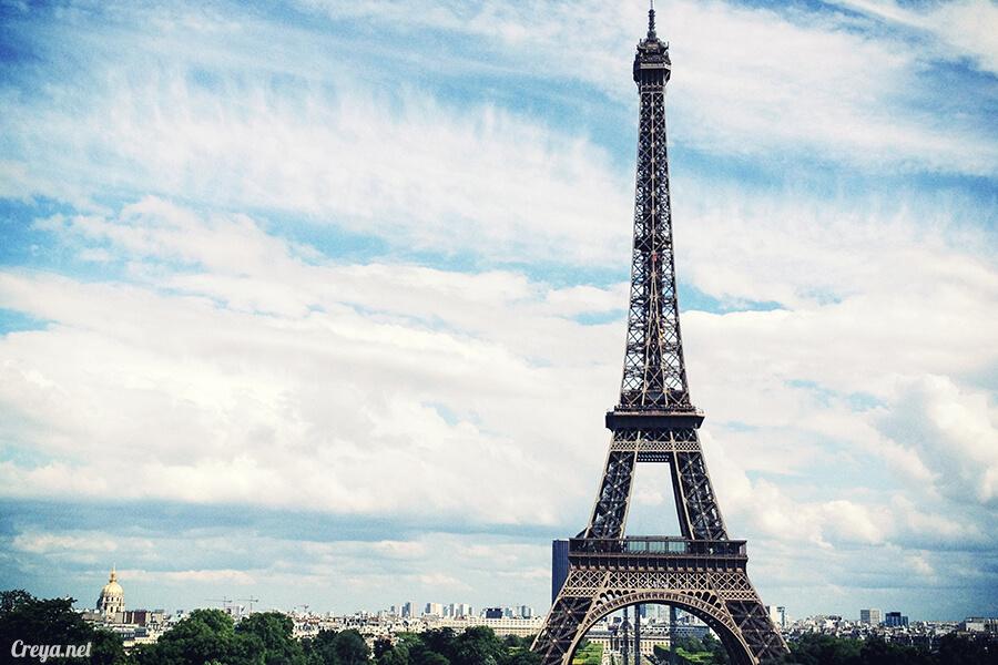 2016.10.09 ▐ 看我的歐行腿▐ 艾菲爾鐵塔,五個視角看法國巴黎市的這仙燈塔 05