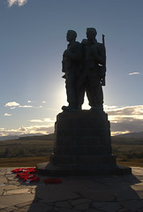 Perfect Weather (Kev Gregory (General)) Tags: sun sets commando memorial spean bridge scottish highlands overlooking tributes lost fallen commandos recent more dated statues stand stark backdrop ben nevis aonach mr category a listed monument scotland dedicated men british forces world war ii situated village overlooks training areas depot established 942 achnacarry castle unveiled queen mother united kingdom tourist attraction kev gregory canon 7d scenic mountain
