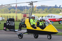 G-CGGW (QSY on-route) Tags: gcggw rotorsport uk gyro autogyro gyrocopter fly in 2016 wolverhampton halfpenny green egbo 02102016