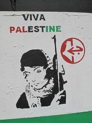 Free Palestine Mural, Belfast (rylojr1977) Tags: belfast mural streetart painting republican palestine plo