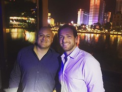 The best way to predict the future is to create it. And that's exactly what these two are doing. #olninc #entrepreneurs #travel #vegas #growth #expansion (oln_inc) Tags: oln inc carson ca los angeles
