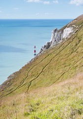Beachy Head Lighthouse (Stephen_Hartley) Tags: beachyhead lighthouse southdownsnationalpark southdownsway englishchannel chalkcliffs seascape sea eastsussex eastbourne