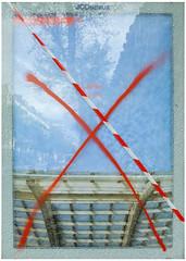 Opening of the new Halles, Paris (michelle@c) Tags: art found abstraction abstract urban pannel broken glass manifestations publiques opening nouvelleshalles decaux paris 2016 michellecourteau