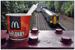 Don't bolt your McFlurry! (geoff7918) Tags: mcflurry hallgreen 1326stratford stourbridge