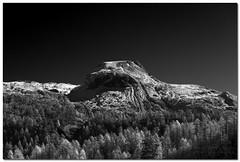 "Alpe Devero (""Deca"") Tags: montagna mountain piemonte pedmont alpedevero biancoenero blackandwhite monocromatico monochrome effettoir ireffect"