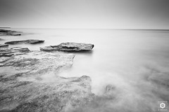 ~ I Stand Alone ~ (Chirag Khatri) Tags: nikon d7200 tamron tamron1530 longexposure long exposure monochrome black white blackandwhite bw landscape seascape sky water waves rock nature outdoor sea ocean beach uae nd nd1000 motion blurred flickr relaxing soothing