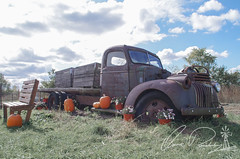 Farm Truck (IRick Photography) Tags: farm truck old rust rusty harvest time fall season seasons autumn pumpkin pumpkins halloween october november farmer farms farming decay rural broken down