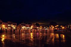 Beestenmarkt, Leiden | the Netherlands (frata60) Tags: nikon d300s tokina 1224mm longexposure le avondfotografie nightshot leiden zuidholland beestenmarkt steenstraat fontein fontaine fountain water landscape landschap netherlands nederland
