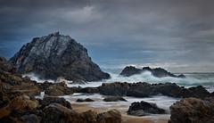 Treacherous Coast (krheesy) Tags: bermagui beach coast rocks rough seashore storm waves sea
