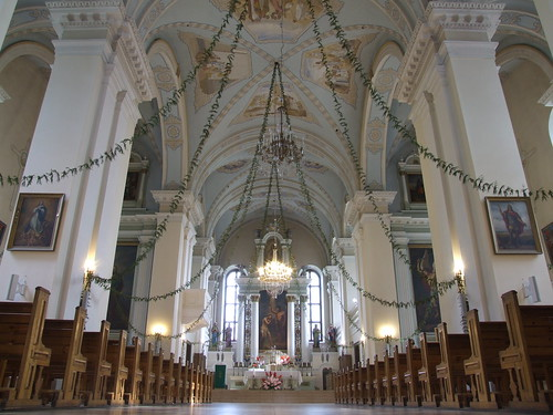 Interior of St. John's the Baptist Church, 10.08.2013.