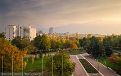 / Colourful Lozenets (AVasilev) Tags:           autumn fall colorus trees park sky mountain buildings sunset vitosha sofia skyline city