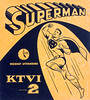 1950s Superman TV show sign (Tom Simpson) Tags: superman 1950s vintage sign comics television ad ads advertising advertisement ktvi channel2