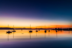 Just before dawn.. (dmunro100) Tags: sunrise dawn twilight serene boat bay batemansbay calm newsouthwales nsw australia canon eos 80d canonefs1018mmf4556isstm