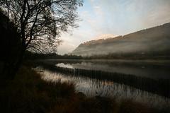 Lower (Costigano) Tags: outdoor lowerlake glendalough wicklow ireland irish water lake lough canon eos scenic scenery mist misty fog foggy