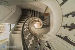 Perfekte Spirale (Carismarkus) Tags: architektur berlin spirale staircase treppe treppenauge