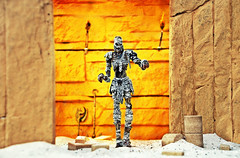 The Mummy (RK*Pictures) Tags: mummy actionfigure toy diorama sand stone desert mcfarlane monster horror mcfarlanesmonsters mummified bookofthedead ancientegyptianfunerarytexts egypt tomb curseofthepharaohs pharaoh curse disturb illness death badluck archaeology magic science scrollofthoth viscera archaeologicalexpedition embalm buriedalive sacrilege ancient reincarnation treasure immortality spell resurrection fear dust skin organs deceasedhuman preserved flesh hot dry deadbody afterlife burial burialpractice linenbandages bandages sarcophagus supernatural prowl artifact mummification creepy scary horrifying revived skeleton bones creature execution lostlove discovery kill isis osiris doom iconic torch burialchamber