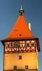 Das Beinsteiner Tor im goldenen Licht (Gerosas) Tags: architektur beinsteinertor dezember goldfarben herbst lichtzauber remsmurrkreis spätherbst turm uhr waiblingen makroplanart2100 zeiss planar