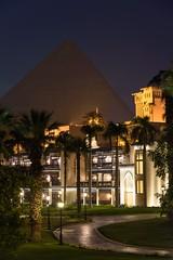 Mena House Hotel (stefan_fotos) Tags: afrika architektur hf hotel kairo licht menahouse nacht pyramide reisethemen urlaub hq gypten cairo egypt africa mena house giza