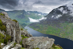 Llyn Ogwen (Jake Pike) Tags: snowdonia mountains lake cloud hills rain summer filters jake pike photography landscape tryfan llyn ogwen colour wales