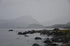 Summer in Western Norway (-Kj.) Tags: flatraket nordfjord summer rain fog grey sea remake