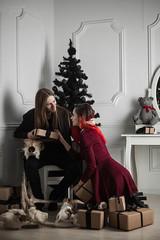 IMG_0040 (rodinaat) Tags: new year happy holiday tree christmas skull goat satan brutal metal metalhead longhaie redhair red black