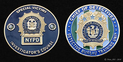 NYPD Chief of Detectives SVD Investigators Training Course Coin (Nate_892) Tags: nypd new york police challenge coin svd special victims division investigators course chief detectives training domestic violence unit dvu
