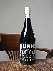 Burns and Fuller Shiraz (knightbefore_99) Tags: wine vin vino grape bottle tasty drink red rouge rosso tinto shiraz australia australian langhorne creek burnsandfuller